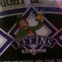 Photo taken at Effins Pub & Grill by Mike H. on 7/24/2011