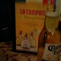 Photo taken at La Campana Mexican Restaurant by Luciano N. on 5/12/2012