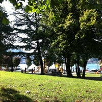 Photo taken at Parco Giochi Lungolago by Davide P. on 8/20/2011