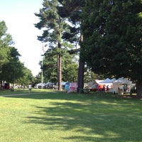 Photo taken at Brunswick Farmer's Market by Angela S. on 7/13/2012