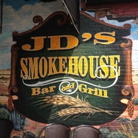 Photo taken at JD's Smokehouse Bar & Grill by Reggie P. on 8/3/2012