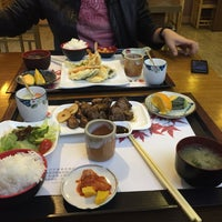 Photo taken at 大連紅葉河豚魚料理 by Nese A. on 4/2/2015