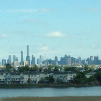 Photo taken at NYC Skyline From Jersey by Cynthia T. on 4/23/2016