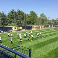 Photo taken at U-M Soccer Complex by Emmy H. on 8/30/2013