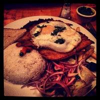Photo taken at Sabor Peru Restaurant by Suzanne B. on 1/5/2013