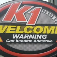 Photo taken at K1 Speed Anaheim by Nic R. on 4/14/2013