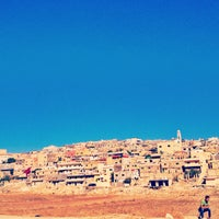 Photo taken at Huson refugee camp by Hamza K. on 10/3/2013