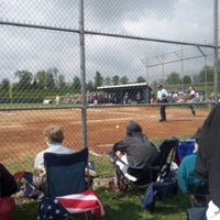 Photo taken at Trine Thunder Softball by Jay N. on 5/10/2013