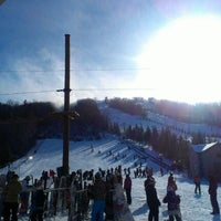 Photo taken at Centre de ski le Relais by Jpay B. on 12/29/2012