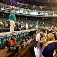 Photo taken at First Base Dugout by Eric W. on 6/23/2013