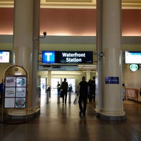 Photo taken at Waterfront Station by Eric W. on 6/21/2013