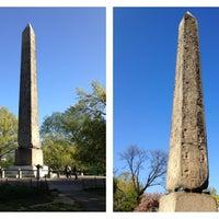 5/4/2013 tarihinde Eric W.ziyaretçi tarafından The Obelisk (Cleopatra's Needle)'de çekilen fotoğraf