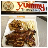 Photo taken at Yummy's Korean BBQ by Eric W. on 2/27/2013