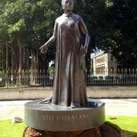 Photo taken at Queen Liliʻuokalani Statue by Eric W. on 2/26/2013