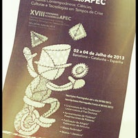 Photo taken at XVIII Seminário Acadêmico APEC by Eduardo Castro on 7/2/2013