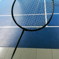 Photo taken at Pro One Badminton Centre by Nur Amalina R. on 1/21/2017