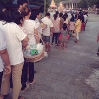 Photo taken at วัดสวนพล by Natsara M. on 10/8/2014