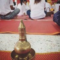 Photo taken at วัดสวนพล by Natsara M. on 10/26/2015