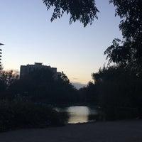 Photo taken at Laguna Parque de Los Reyes by Niccolle R. on 2/9/2017
