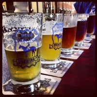Photo taken at Blue Stallion Brewing Co. by Brian T. on 7/27/2013