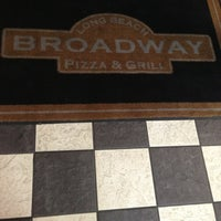 Photo taken at Broadway Pizza & Grill by Andrew C. on 2/5/2013