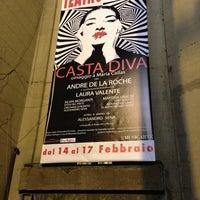 Photo taken at Teatro Italia by Eugenio D. on 2/16/2013