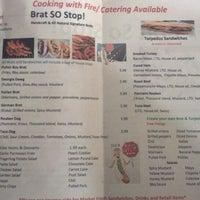 Photo taken at Brat So Stop by Brenda Y. on 1/10/2014