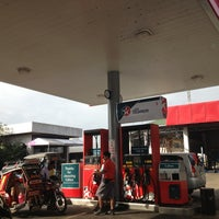 Photo taken at Caltex Gas Station by Airah A. on 1/18/2013