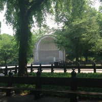 Photo taken at Naumburg Bandshell by Fiona H. on 5/31/2013