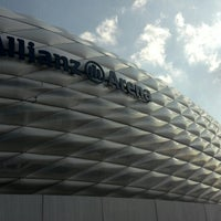 Photo taken at Allianz Arena by Konstantin V. on 7/12/2013