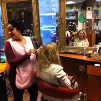 Photo taken at Clara's beauty salon by Eline M. on 1/12/2013