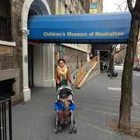 Photo taken at Children's Museum of Manhattan (CMOM) by Oscar P. on 3/16/2013