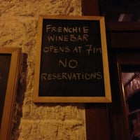 Photo taken at Frenchie by Paul C. on 1/31/2013