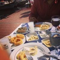 Photo taken at Antigoni Restaurant by Esra s. on 3/31/2013
