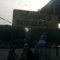 Photo taken at Ghaziabad Railway Station by Sanchit M. on 6/2/2013