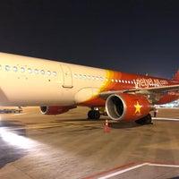 Photo taken at VietJet Air by Luke C. on 1/17/2018