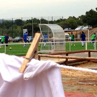 Photo taken at Campo De Futebol Municipal by Mns on 9/14/2013