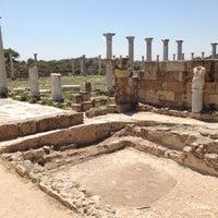 Photo taken at Salamis Ruins by Nadya Z. on 7/30/2013
