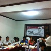 Photo taken at Consejo Distrital XXII by Julio T. on 7/11/2013