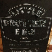 Photo taken at Little Brother BBQ by Carolee M. on 2/17/2013