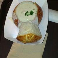 Photo taken at Boudin Bakery Café Macy's Kiosk by Michael M. on 2/3/2013