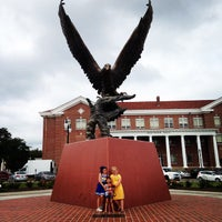 Photo taken at The University of Southern Mississippi by Brandi M. on 9/27/2014