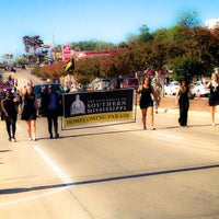 Photo taken at The University of Southern Mississippi by Brandi M. on 11/8/2014
