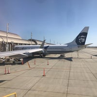 Photo taken at Gate 12 by Alex L. on 5/18/2017