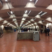 Photo taken at 16th St. Mission BART Station by Alex L. on 8/1/2013
