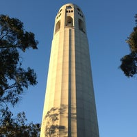 Photo taken at Coit Tower by Alex L. on 11/17/2013