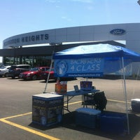 Photo taken at Arlington Heights Ford by Fernando on 7/13/2013