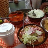 Photo taken at Mercado de Comida Coyoacán by Alan V. on 3/31/2013