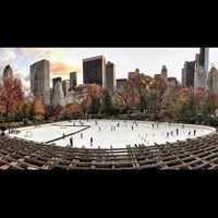 Photo taken at Wollman Rink by Jeff M. on 11/15/2012