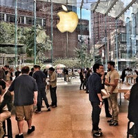 Photo taken at Apple Upper West Side by Jeff M. on 10/2/2012